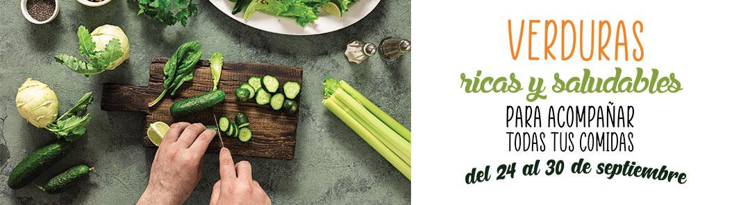 Banner Cabecera Verduras Ricas y Saludables