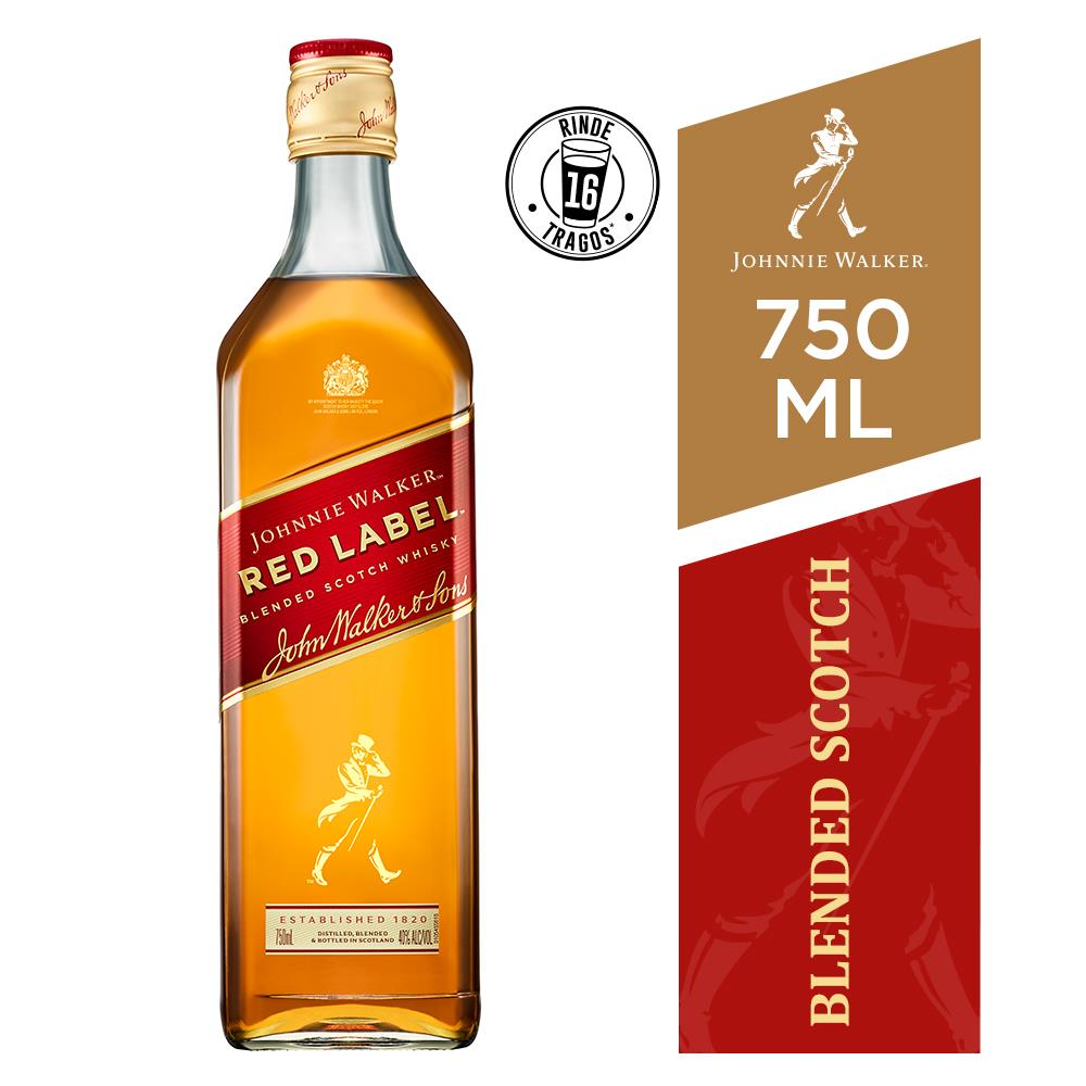 Whisky Johnnie Walker 750 Ml Red Label