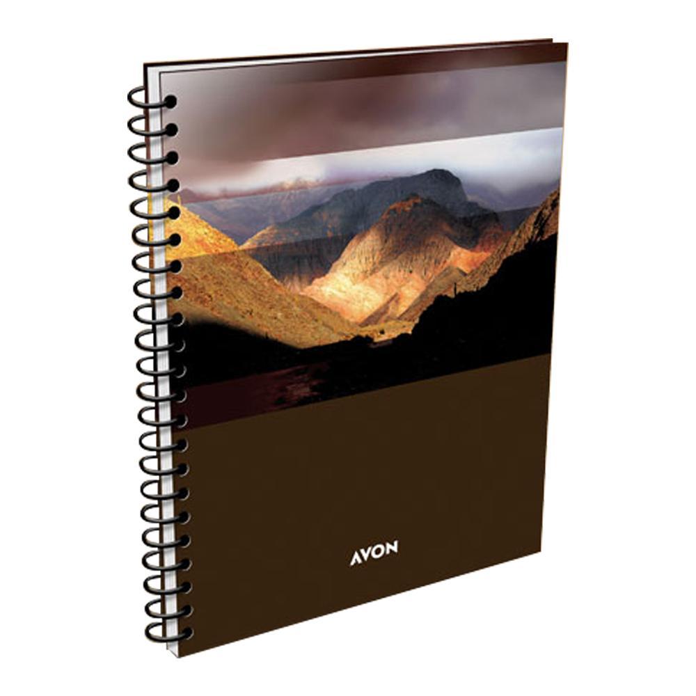 Cuaderno Universitario AVON 84 Hojas Cuadriculadas Diseños