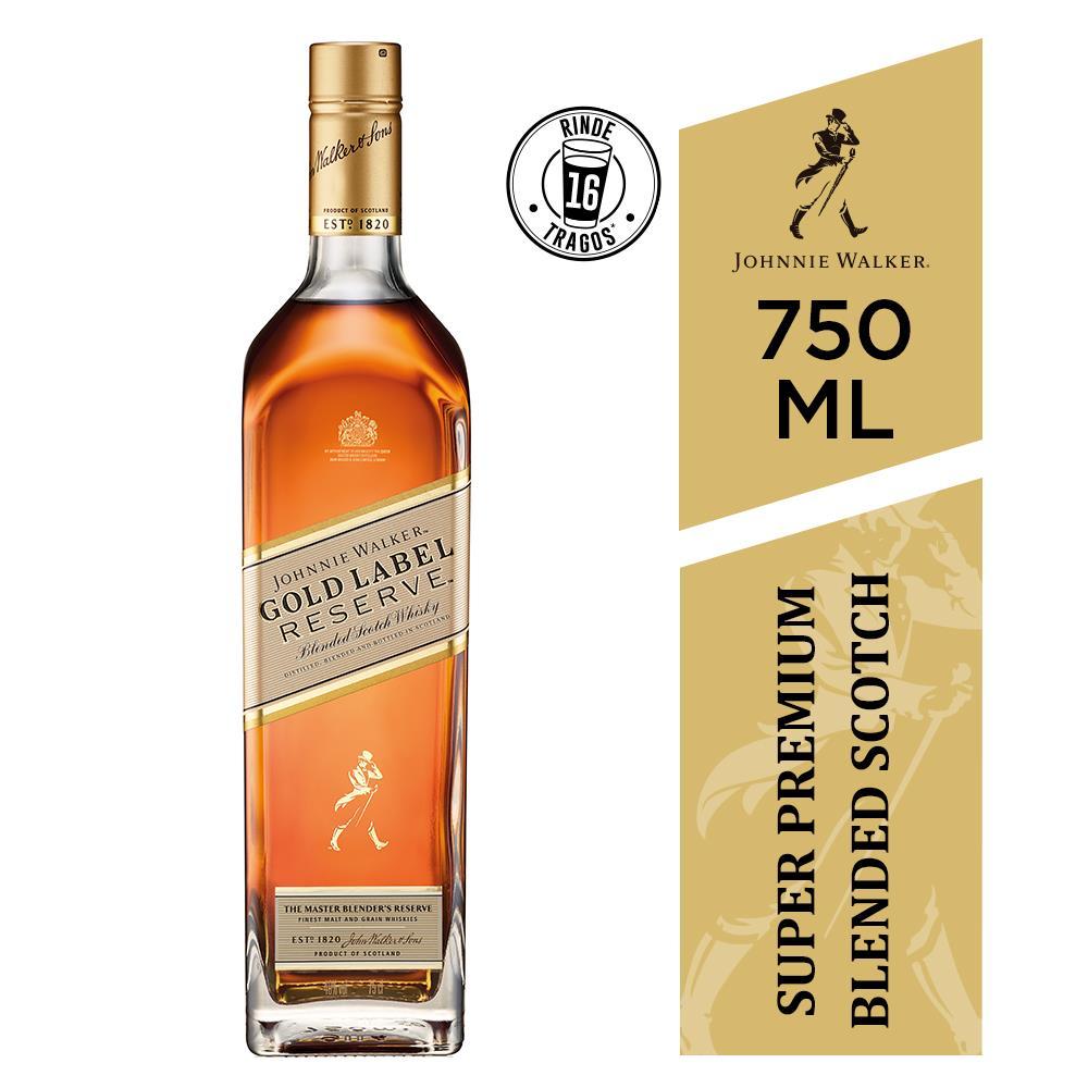 Whisky Johnnie Walker 750 Ml Gold Label Reserve