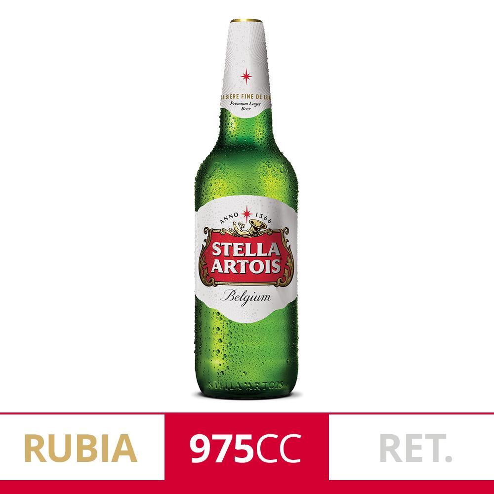 Cerveza Lager STELLA ARTOIS   Botella 975 Cc