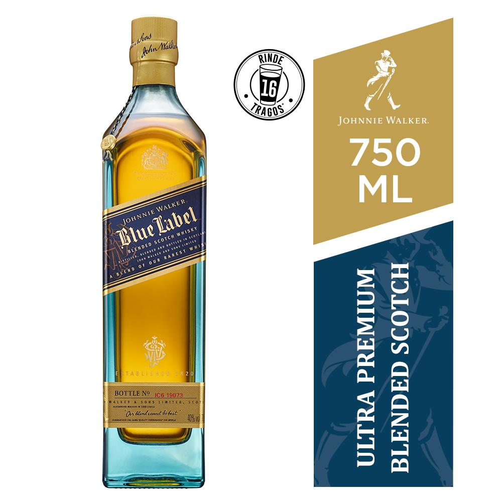 Whisky Blue Label JOHNNIE WALKER 750 CC