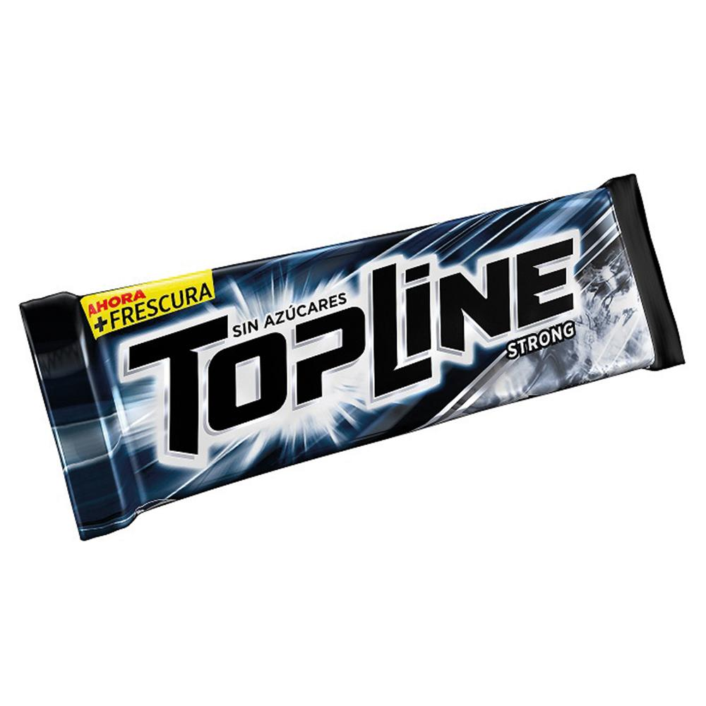 Chicles TOPLINE Strong Paq 6.7 Grm