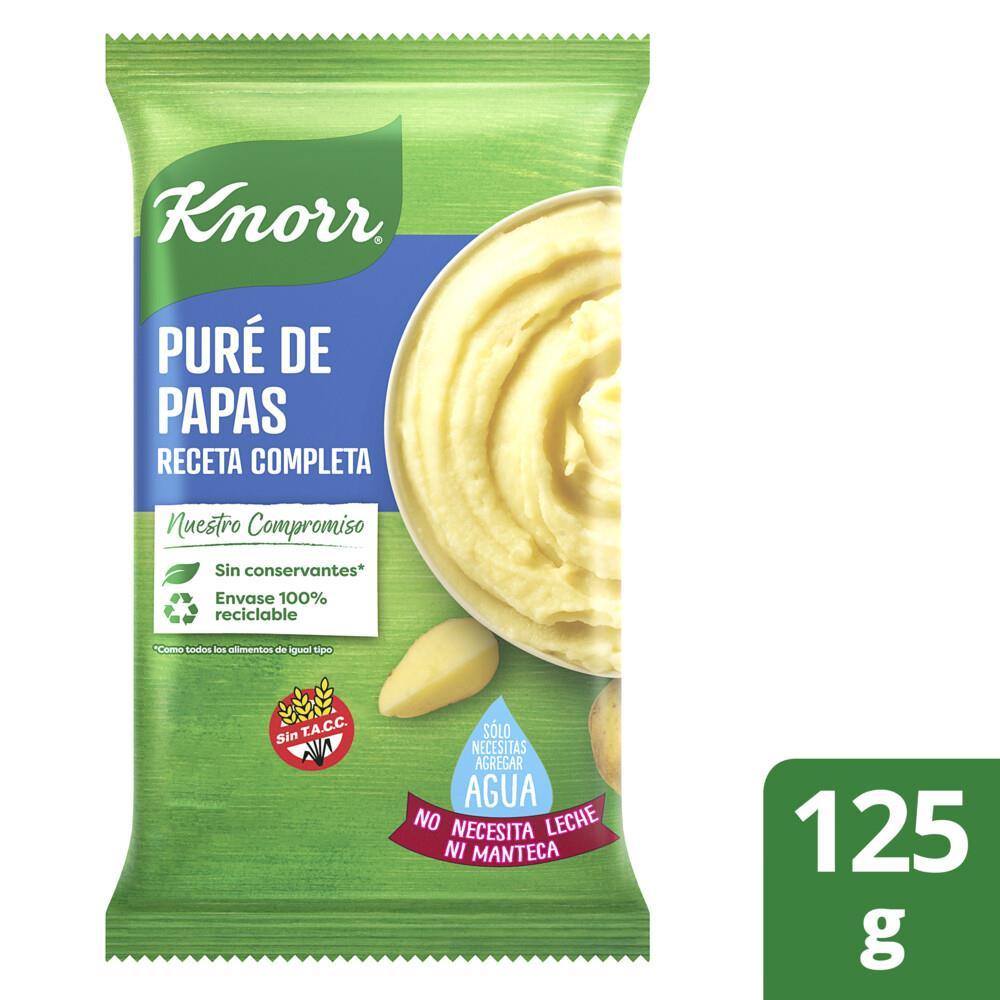 Puré De Papas KNORR Receta Completa Paquete 125 Gr