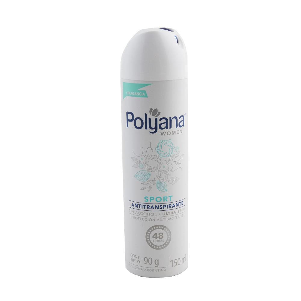 Desodorante Antitraspirante POLYANA  Sport Seco Aerosol 172 Cc