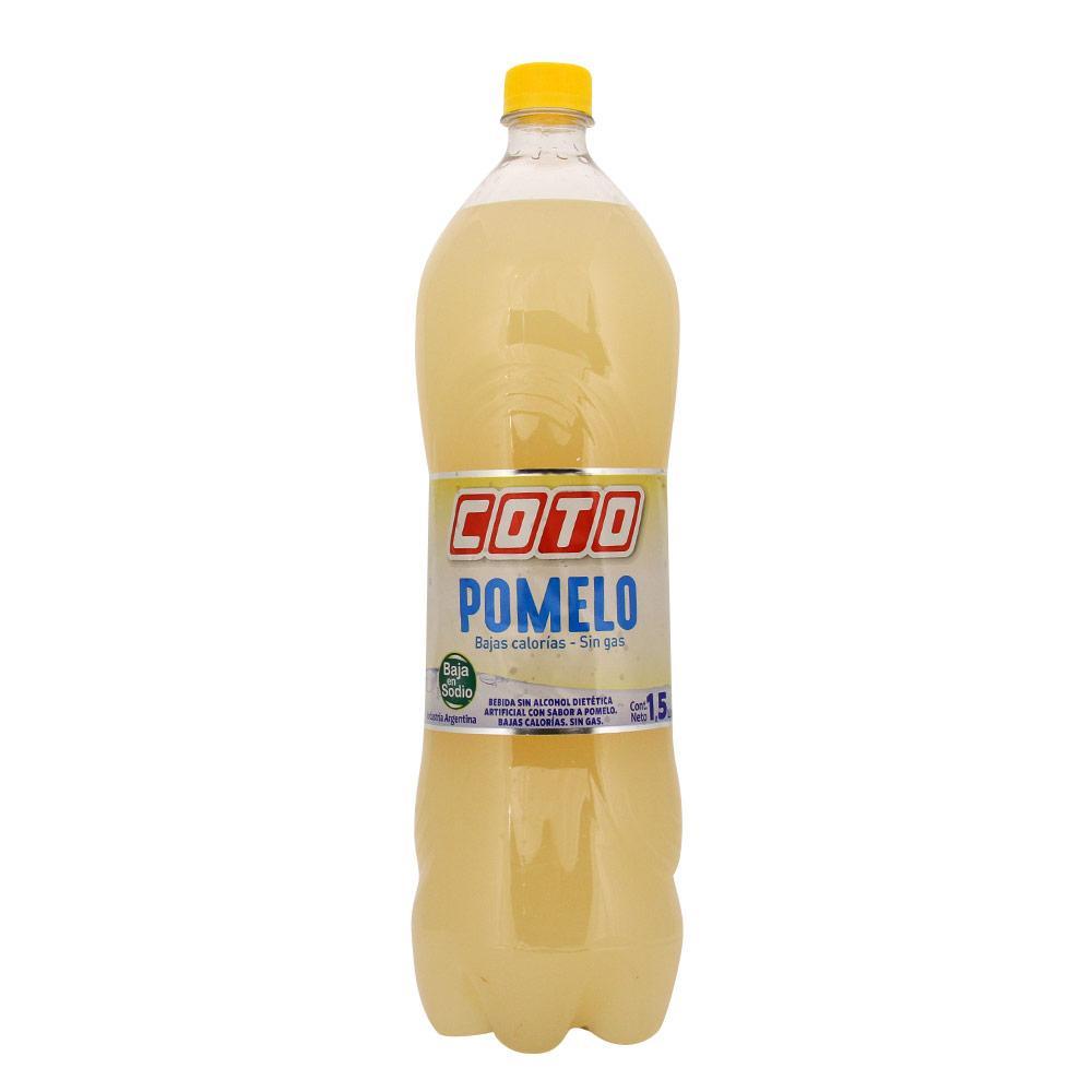 Agua Saborizada Coto Pomelo Botella 1.5 L