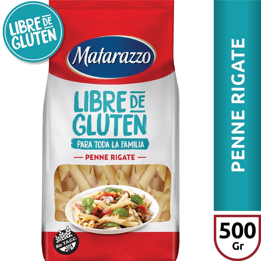 Fid.P/Celiacos Penne Rigate MATARAZZO Paq 500 Grm