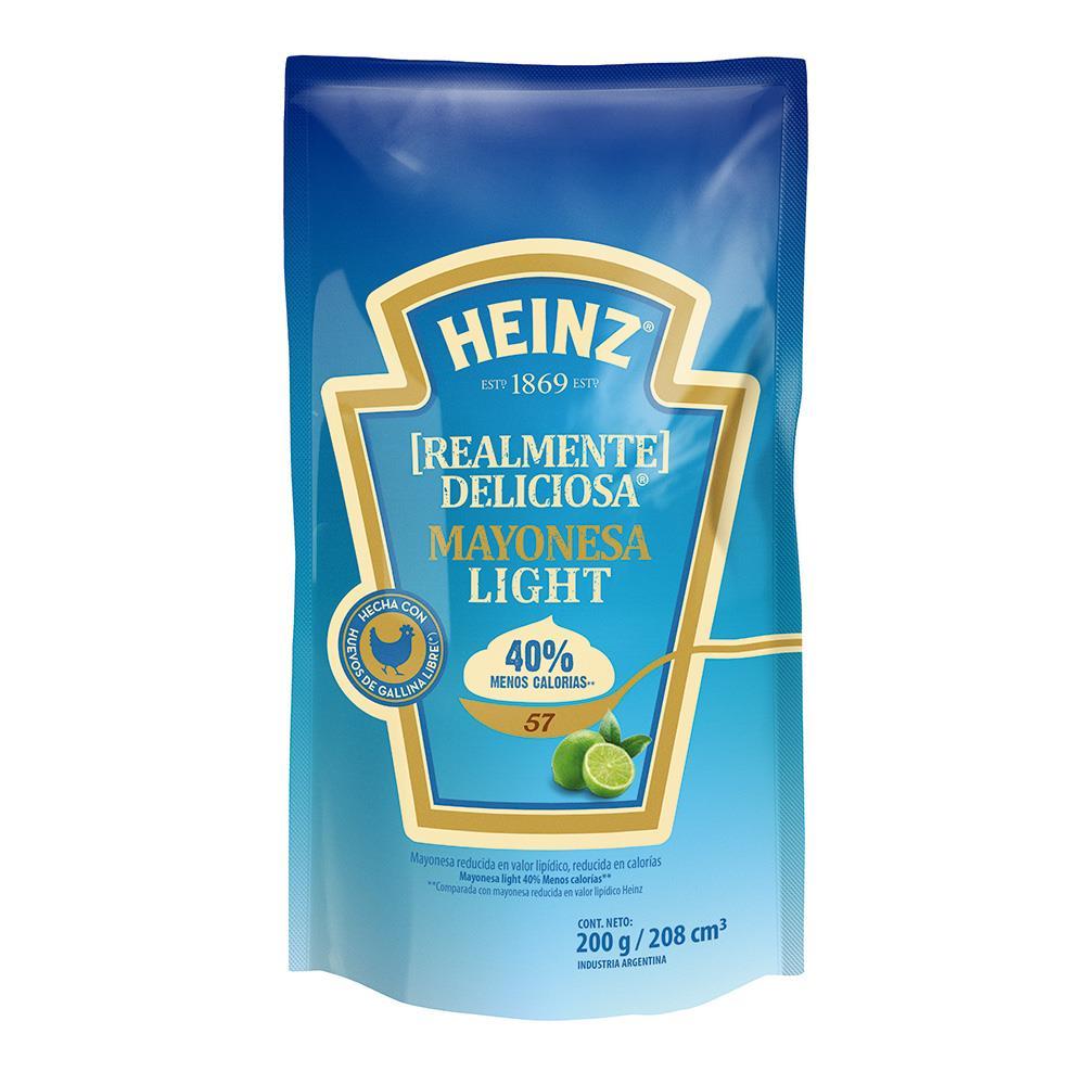 Mayonesa Light Heinz Doy 200 Grm