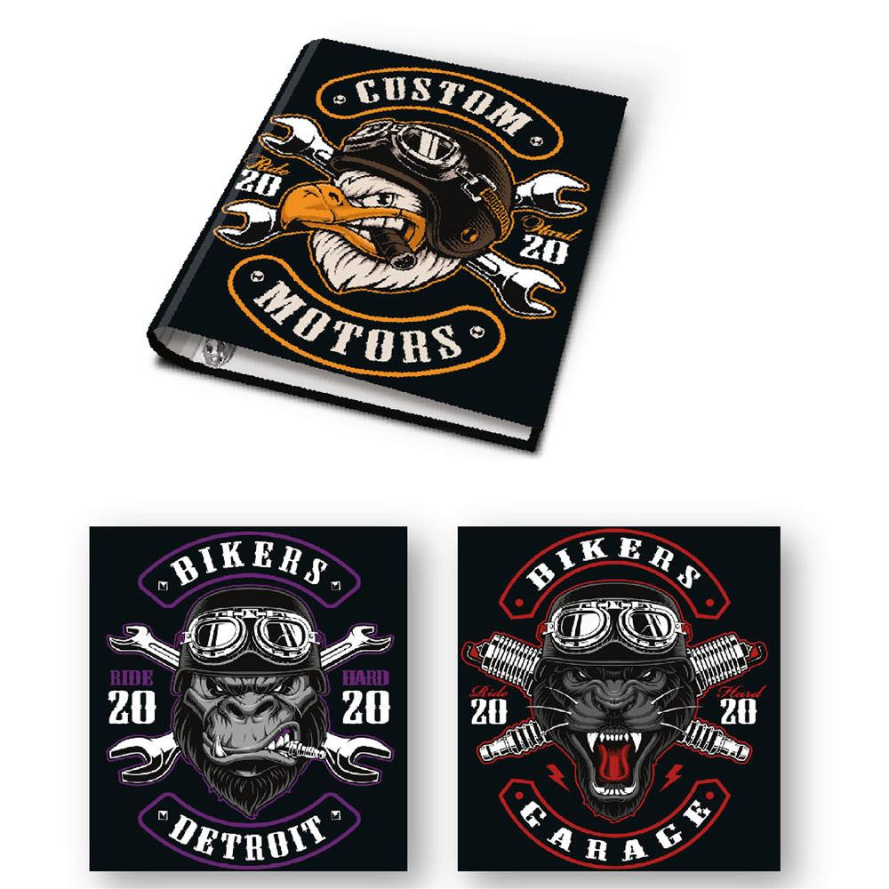 Carpeta 3x40 Bikers . . . .