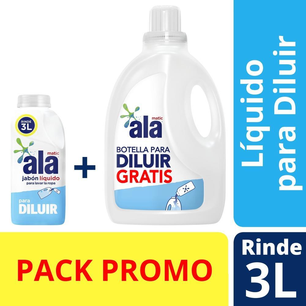 Jabon Liquido Para Diluir +  ALA Pack 500 Ml