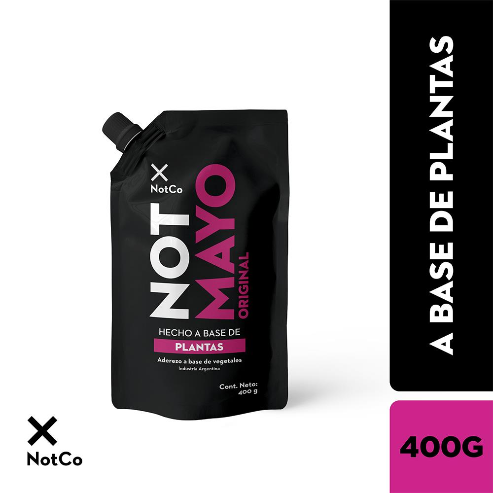 NOT MAYO Aderezo A Base Vegetal 400 Gr