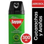 Insecticida Mata Cucarachas Y Arañas BAYGON En Aerosol 300cc