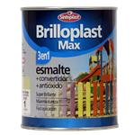 Esmalte Brillante Brilloplas Max Marfil 1l Sinteplast