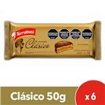 Alfajor Terrabusi Chocolate 50 Gr X 6 Uni