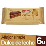 Alfajor Terrabusi Chocolate 50 Gr X 6 Uni