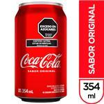 Gaseosa COCA COLA    Lata 354 Cc