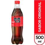Gaseosa COCA COLA    Botella 500 Cc
