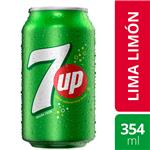 Gaseosa SEVEN UP    Lata 354 Cc