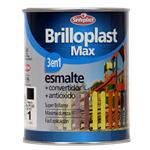 Esmalte Brillante Brilloplas Max Negro 1l Sinteplast