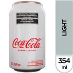 Gaseosa COCA COLA Light   Lata 354 Cc