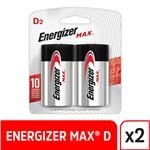 Pila D Energizer Grande Bli 2 Uni