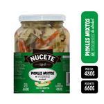 Pickles Mixtos NUCETE Frasco 660 Gr