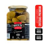 Aceitunas Verdes NUCETE Premium Frasco 660 Gr