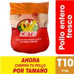 Pollo Entero Fresco X Uni (4 Kg)