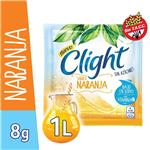 Jugo En Polvo CLIGHT Naranja Light   Sobre 8 Gr