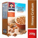 Cereal Honey Graham Quaker Est 200 Grm