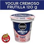 Yogur Entero MILKAUT Frutillas 125 Gr