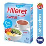 Edulcorante HILERET Sweet Caja Sobres X 100