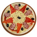Pizza Calabresa Coto X Uni