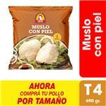 Muslo Con Piel X Uni (690 Gr)