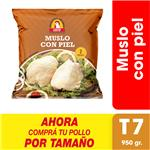 Muslo Con Piel X Uni (950 Gr)