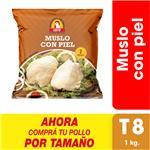 Muslo Con Piel X Uni (1 Kg)