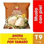 Muslo Con Piel X Uni (1.1 Kg)