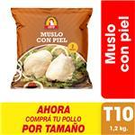 Muslo Con Piel X Uni (1.2 Kg)