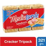 Galletitas Crackers Mediatarde Paq 321 Grm