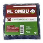 Huevo Color Grande El Ombu Map 30 Uni