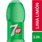 Gaseosa SEVEN UP    Botella 2.25 L
