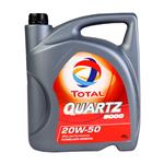 Aceite 20w50 Quartz 5000- Presentación: 4 Litros