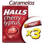 Caramelos HALLS Cherry Pak 3 Uni