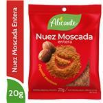 Nuez Moscada Entera ALICANTE Sob 20 Grm