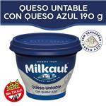 Queso Untable MILKAUT Queso Azul 190 Gr