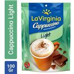 Cappuccino Instantáneo LA VIRGINIA  Light Paquete 100 Gr
