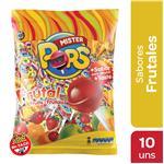 Chupetin Frutal Mr.Pop'S Bsa 10 Unidades