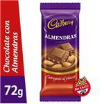 Chocolate CADBURY Con Almendra Tab 72 Grm