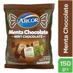 Caramelos Menta+Chocolat Arcor Bsa 150 Grm