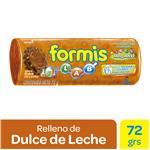Galletitas Rellenas Formis Dulce De Leche Paq 72 Grm